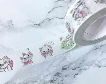 AristoCats Washi Tape - AristoCats Washi - Cat Washi Tape - Funny Cat Tapes - Cat Washi Tape - Cat Washis - Cat Tape - Cat Stationery