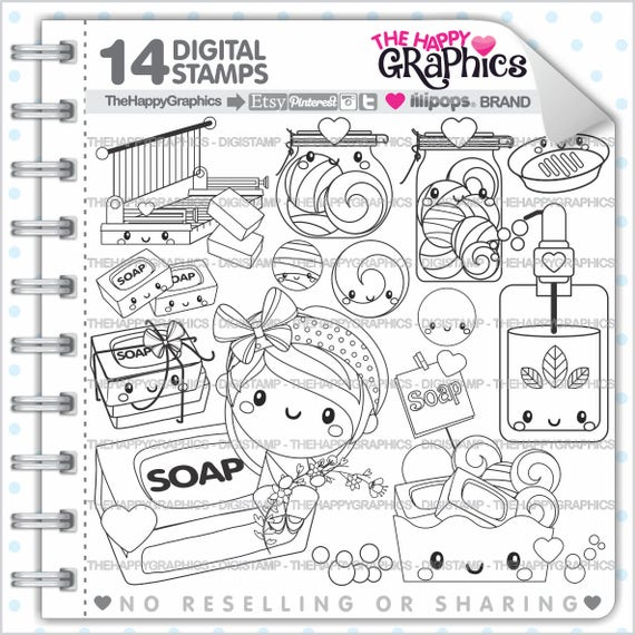 Soap Stamp 80OFF Commercial Use Digi Stamp Digital