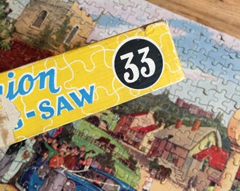 Good Companion jigsaw puzzle Village Wedding No. 33 Vintage Jigsaw Puzzle