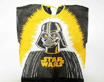 Vintage Star Wars Darth Vader Kids Plastic Halloween Costume. Circa 1977.