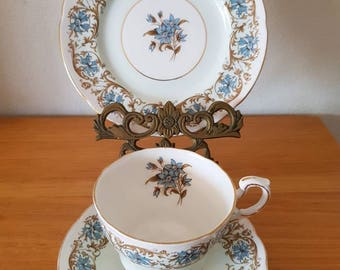 Vintage Paragon/Cambridge/Bone China/English Trio Cup, Saucer, Side Plate