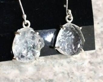 Fire & Ice Quartz  Earrings