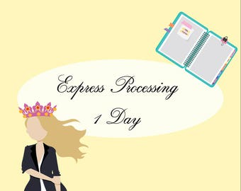 1 Day Express Processing