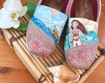 Moana hand painted Toms