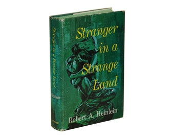 Stranger in a Strange Land ~ ROBERT A HEINLEIN ~ First Edition 1st Printing 1961