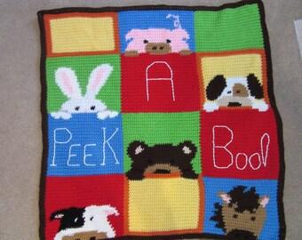 Baby Blanket - Peek a Boo