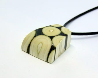 Unique Wood Resin Jewelry, Resin Wood Pendant, Boho Wood Resin Necklace, Statement Nature Jewelry, Mothers day, Mom Gift, Gift for her
