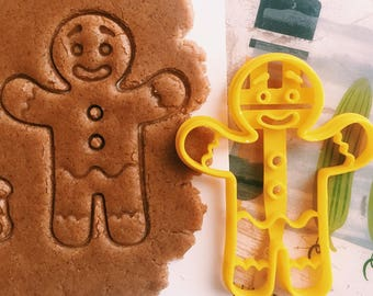 Gingerbread man Cookie Cutter cookiecutter cookies any shape any size