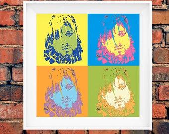 Nirvana Art Etsy