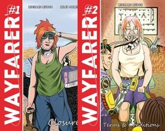 WAYFARER 1+2 Double Pack, Science Fiction Short Stories
