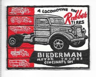 Vintage Truck Manufacturer Ohio Biederman Motor Trucks 1920 to 1955 Cincinati, Ohio
