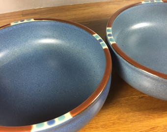Dansk Mesa Sky Blue Soup Bowl 2pc