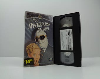 Invisible Man Returns [VHS] (1940)