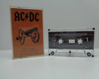 AC/DC For Those About To Rock We Salute You Cassette