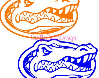 florida gators logo outline. florida gator decal car macbook gators logo outline
