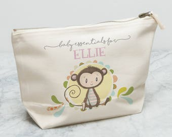 Personalised Baby Essentials Bag | Bits and Bobs Bag | Baby Changing Bag | Baby Bag | Gifts for Newborns