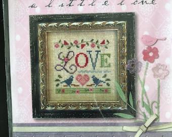 Lizzie Kate, A Little Love Cross Stitch pattern