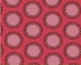 Amy Butler Soul Blossoms Laurel Dots in Pink - 1 yard
