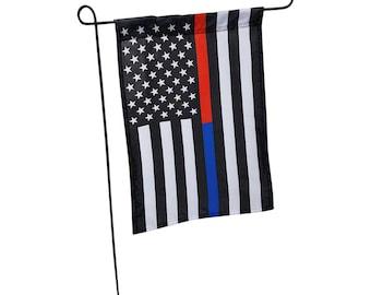 Blue Line Garden Flag, Red line garden flag, Green line garden flag, Supporters Flag, Garden Flag