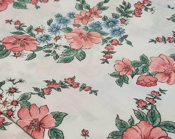 Pink and blue Floral/daisy cannon Monticello pillowcases free shipping
