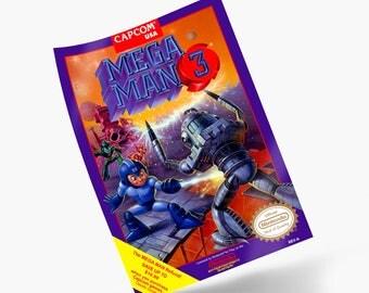 Mega Man 3 NES Print