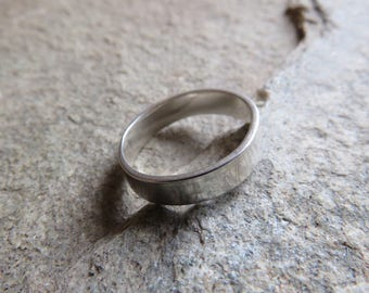 Sterling Silver 4mm band ring