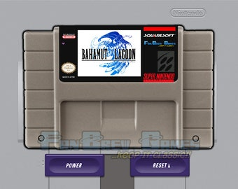 "SPECIAL ORDER! ""Bahamut Lagoon"" Unreleased Super Nintendo SNES Role Playing Game!"