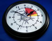 Skydiver's Altimeter Clock With Action!