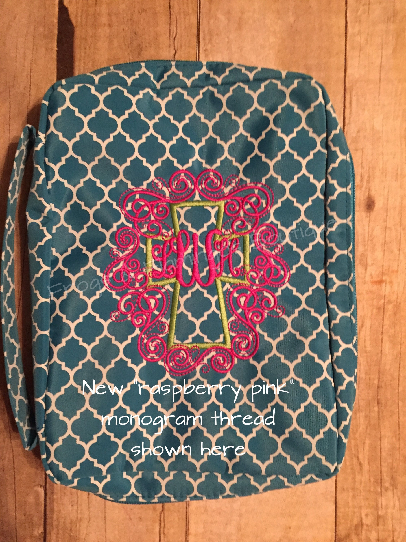 monogrammed bible covers quatrefoil bible covers