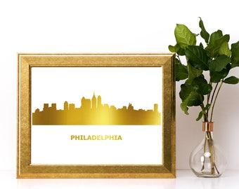 Philadelphia Poster Etsy