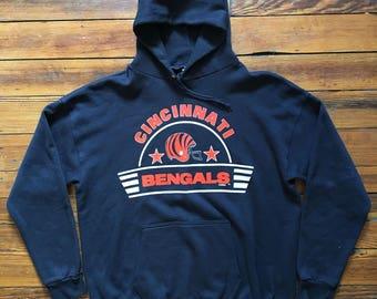 Vintage Cincinnati Bengals Hoodie