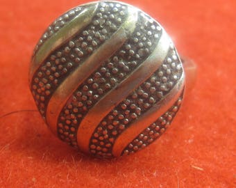 P-30  Vintage Ring silver 925 size 7 3/4