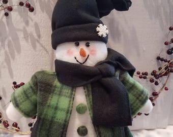 Snowman,Snowman Shelf Sitter, Snow PeopleWinter decor,Holiday Decor,Christmas Decor