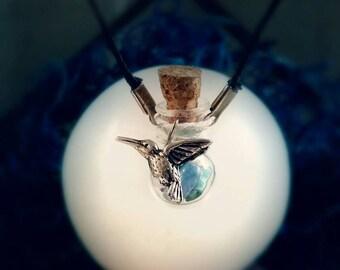 Handmade, Bohemian, Magical Vial pendants - Various Charms