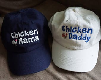 Two Hats - Chicken Daddy  and/or Chicken Mama
