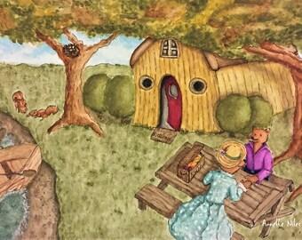 Romatic picnic