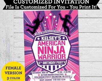 American Ninja Warrior Certificate Of Completion Diy Printable