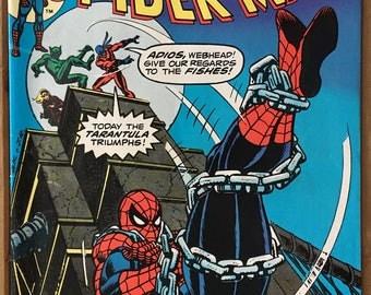 Vintage Amazing Spider-Man - Marvel Comic Book - Issue 148 - The Jackal - The Tarantula - Clone Saga - Bronze Age (1975)