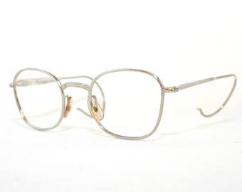 Outstanding Vintage Silver Wire Rimed Eye Glasses With Designer Case Free Wiring Cloud Funidienstapotheekhoekschewaardnl