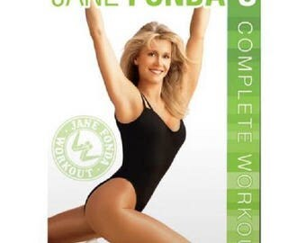Jane Fonda's Complete Workout DVD, Workout with Jane Fonda, aerobic workout DVD, Weight Loss DVD