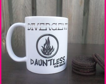 Movie Inspired Coffee Mugs (Divergent)