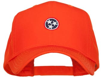 Tennessee Flag Logo Embroidered Twill Pro Cap