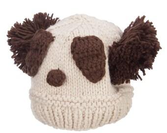 Women's Panda Knit Beanie
