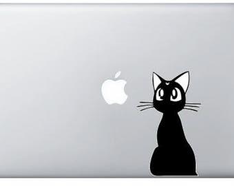 Sailormoon Luna Laptop Decal - Car Decal - Sticker
