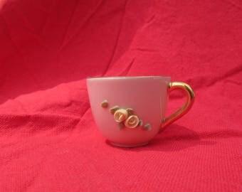 Pink Bone China Toy Teacup