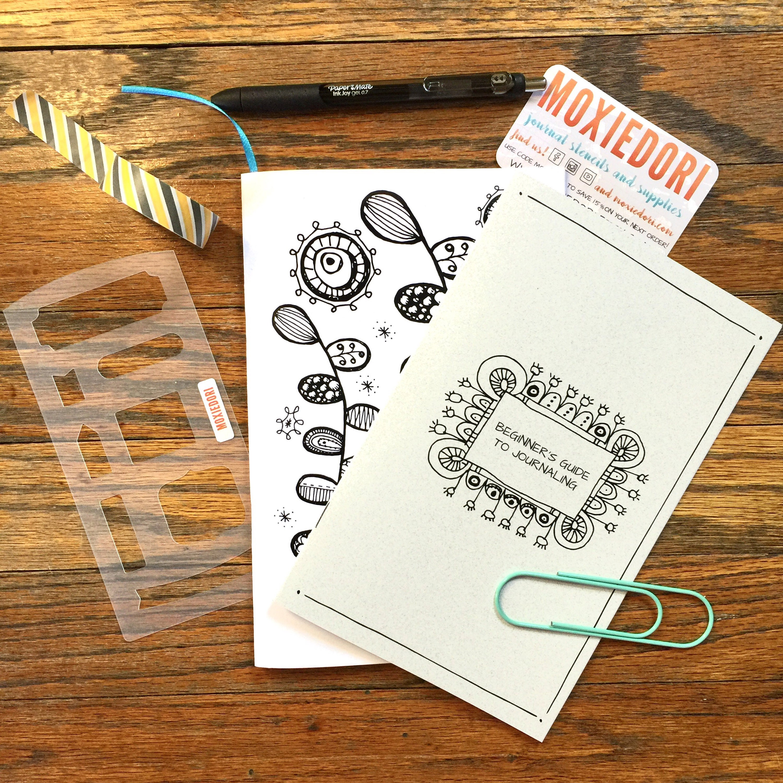 bullet journaling how to kit moxiebox beginner starter. Black Bedroom Furniture Sets. Home Design Ideas