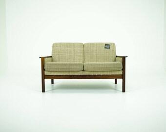309-169 Rosewood Loveseat Danish Mid Century Modern