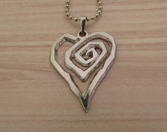 Marilyn Manson Necklace 925 Silver Plated Free Shipping