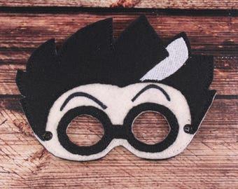 PJ Masks' Romeo Inspired Embroidered Mask