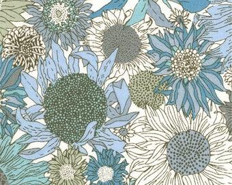 LIBERTY® fabric print Small Susanna blue 0028E / 10 cm